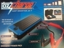 OZ car batteries charger